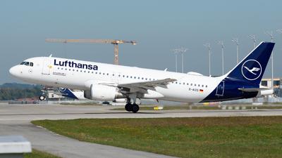 D-AIZD - Airbus A320-214 - Lufthansa