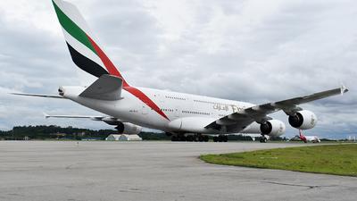 A6-EUU - Airbus A380-842 - Emirates