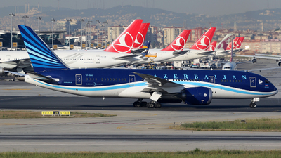 VP-BBS - Boeing 787-8 Dreamliner - AZAL Azerbaijan Airlines
