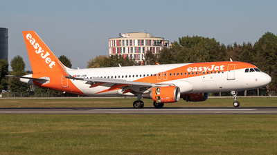 A picture of HBJXM - Airbus A320214 - easyJet - © Boscgnspotter