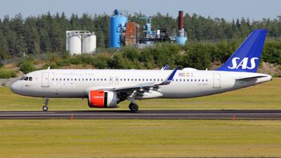 LN-RGO - Airbus A320-251N - Scandinavian Airlines (SAS)