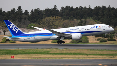 A picture of JA891A - Boeing 7879 Dreamliner - All Nippon Airways - © hiko_0