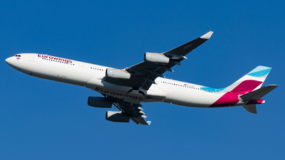 D-AIGY - Airbus A340-313X - Eurowings