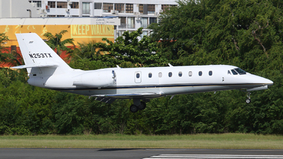 N253TX - Cessna 680 Citation Sovereign - Private