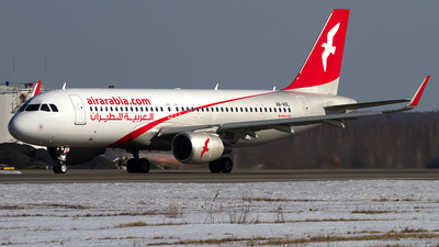 A6-AOL - Airbus A320-214 - Air Arabia