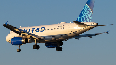 N875UA - Airbus A319-132 - United Airlines