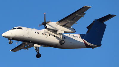 C-FDNG - Bombardier Dash 8-102 - Central Mountain Air