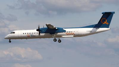 A picture of CGHQL - De Havilland Canada Dash 8400 - Hydro Quebec - © Guy Langlois