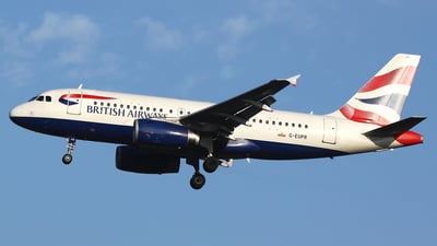 G-EUPR - Airbus A319-131 - British Airways
