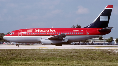 N282AU - Boeing 737-2B7(Adv) - MetroJet