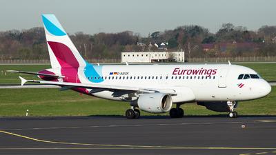 D-ABGK - Airbus A319-112 - Eurowings