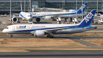 JA804A - Boeing 787-8 Dreamliner - All Nippon Airways (Air Japan)
