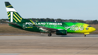 A picture of N607AS - Boeing 737790 - Alaska Airlines - © Devin | Charleston.Spotter