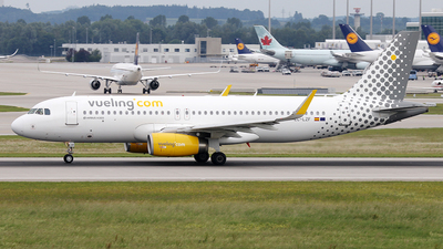 EC-LZF - Airbus A320-232 - Vueling Airlines