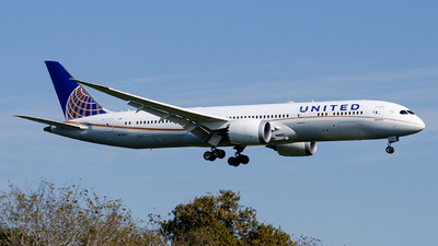 A picture of N19951 - Boeing 7879 Dreamliner - United Airlines - © Mj_Aviation