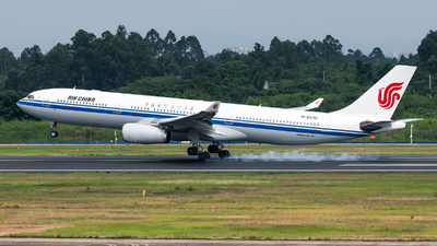 A picture of B6530 - Airbus A330343 - Air China - © Lazy Clutch
