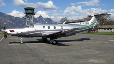 F-HDBL - Pilatus PC-12/47E - Private