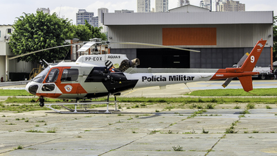PP-EOX - Helibrás AS-350B2 Esquilo - Brazil - Military Police of São Paulo State