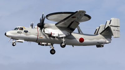 44-3463 - Grumman E-2C Hawkeye - Japan - Air Self Defence Force (JASDF)