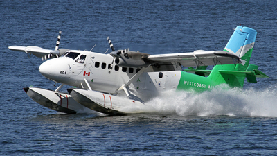 C-FGQH - De Havilland Canada DHC-6-100 Twin Otter - West Coast Air