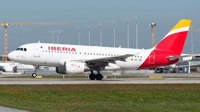 A picture of ECJEI - Airbus A319111 - Iberia - © Thomas Ernst