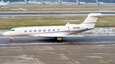 N652BA - Gulfstream G650ER - Private
