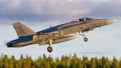 HN-409 - McDonnell Douglas F/A-18C Hornet - Finland - Air Force