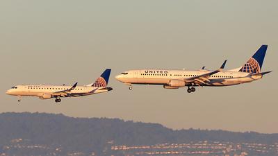 N78509 - Boeing 737-824 - United Airlines