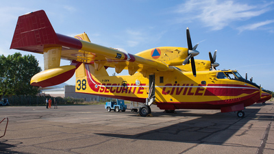 F-ZBFW - Canadair CL-415 - France - Sécurité Civile