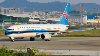 A picture of B1407 - Boeing 73781B - China Southern Airlines - © Lywings