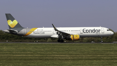 G-TCDR - Airbus A321-211 - Thomas Cook Airlines