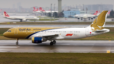 A9C-AO - Airbus A320-214 - Gulf Air