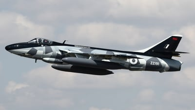 ZZ191 - Hawker Hunter F.58 - Hawker Hunter Aviation