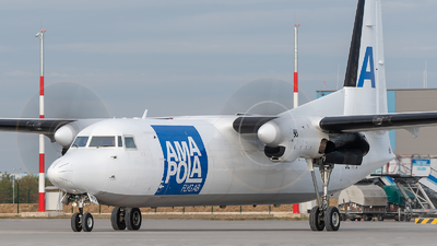 SE-MFD - Fokker 50 - Amapola Flyg
