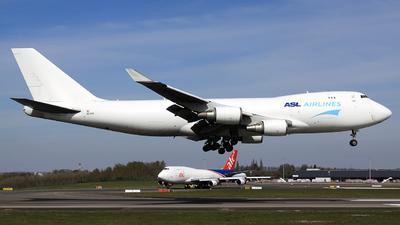 OE-IFK - Boeing 747-4KZF(SCD) - ASL Airlines