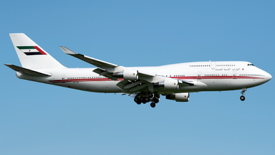 A6-COM - Boeing 747-433(M) - United Arab Emirates - Dubai Air Wing