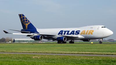 A picture of N493MC - Boeing 74747UF - Atlas Air - © Paul Stam