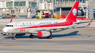 A picture of B1819 - Airbus A320232 - Sichuan Airlines - © Yan Shuai