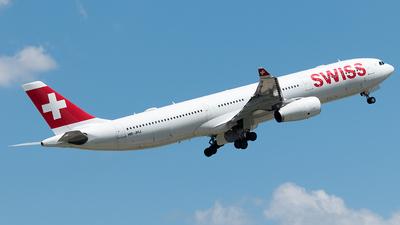 A picture of HBJHJ - Airbus A330343 - Swiss - © Selzam-Rosser