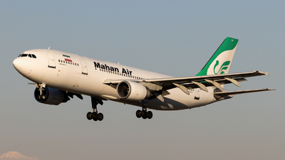 A picture of EPMNG - Airbus A300B4603 - Mahan Air - © DARA ZARBAF