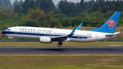 A picture of B7971 - Boeing 73781B - China Southern Airlines - © SZ4509