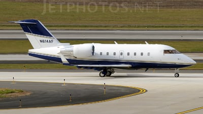 N614AF - Bombardier CL-600-2B16 Challenger 601-3R - Private