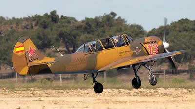 EC-HYX - Yakovlev Yak-52 - Private