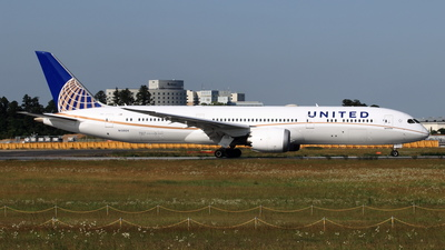 A picture of N13954 - Boeing 7879 Dreamliner - United Airlines - © NRT Spotter