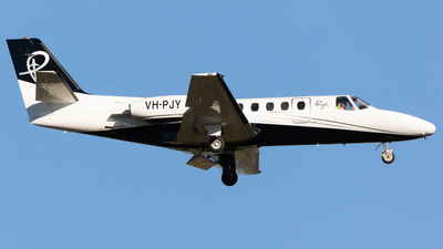VH-PJY - Cessna 550 Citation II - Penjet
