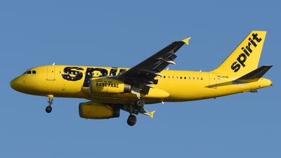 N536NK - Airbus A319-133 - Spirit Airlines