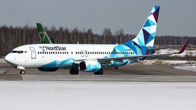 A picture of VQBDN - Boeing 7378K5 - NordStar - © Airyura