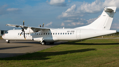OY-YCD - ATR 72-212A(600) - Nordic Aviation Capital (NAC)