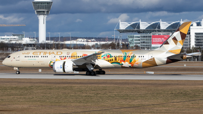 A picture of A6BLH - Boeing 7879 Dreamliner - Etihad Airways - © Tim Donell