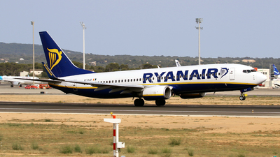 A picture of EIDLB - Boeing 7378AS - Ryanair - © Javier Rodriguez - Amics de Son Sant Joan
